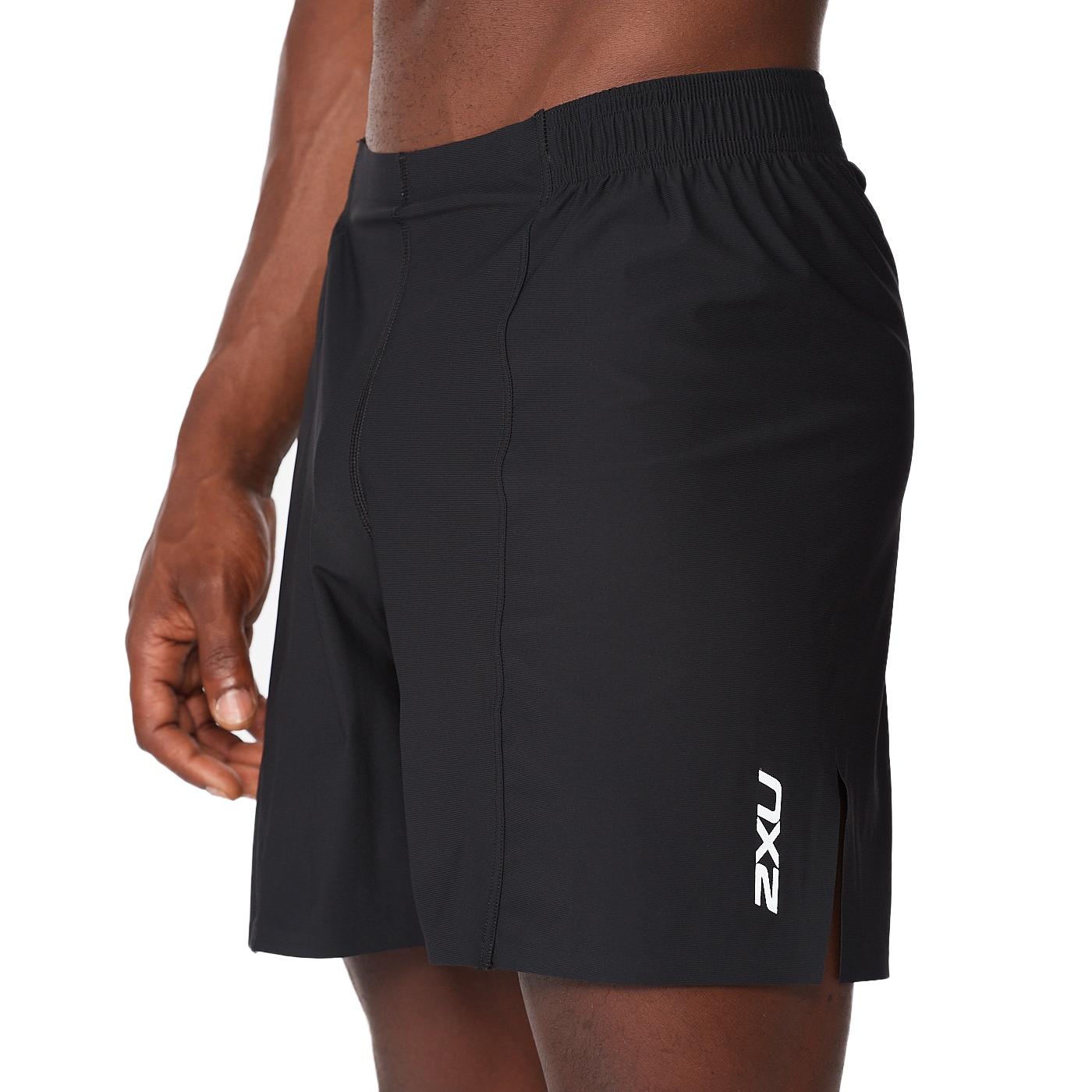 Imagen de 2XU Light Speed 7 Pulgadas Cover Pantalon corto - black/black reflective