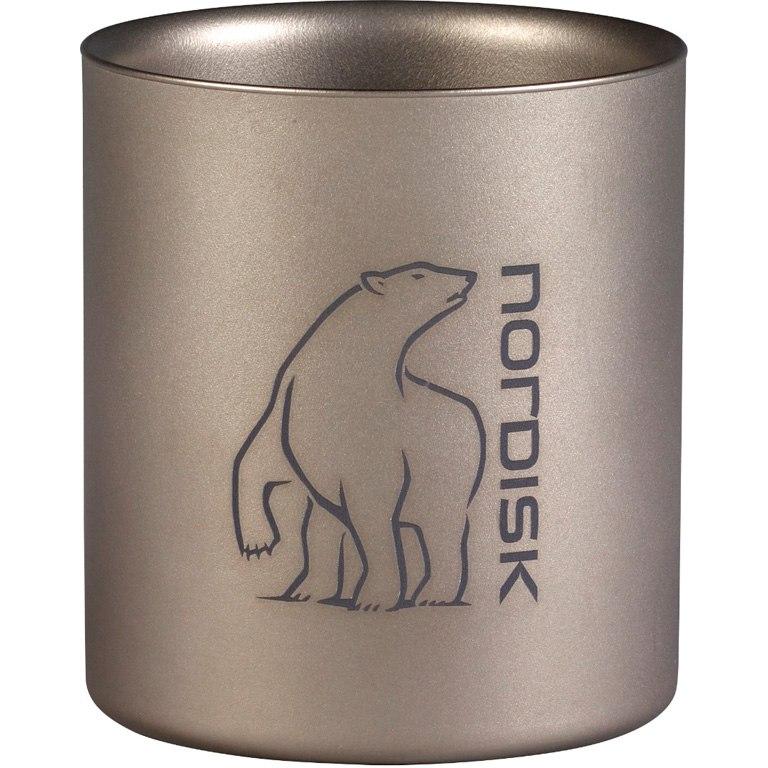 Nordisk Titanium Mug Double-Wall 220 ml Becher