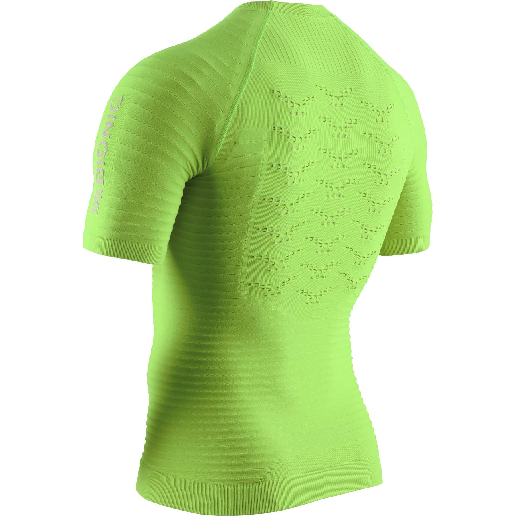 Bild von X-Bionic Effektor 4.0 Run Kurzarm-Laufshirt für Herren - effektor green/arctic white