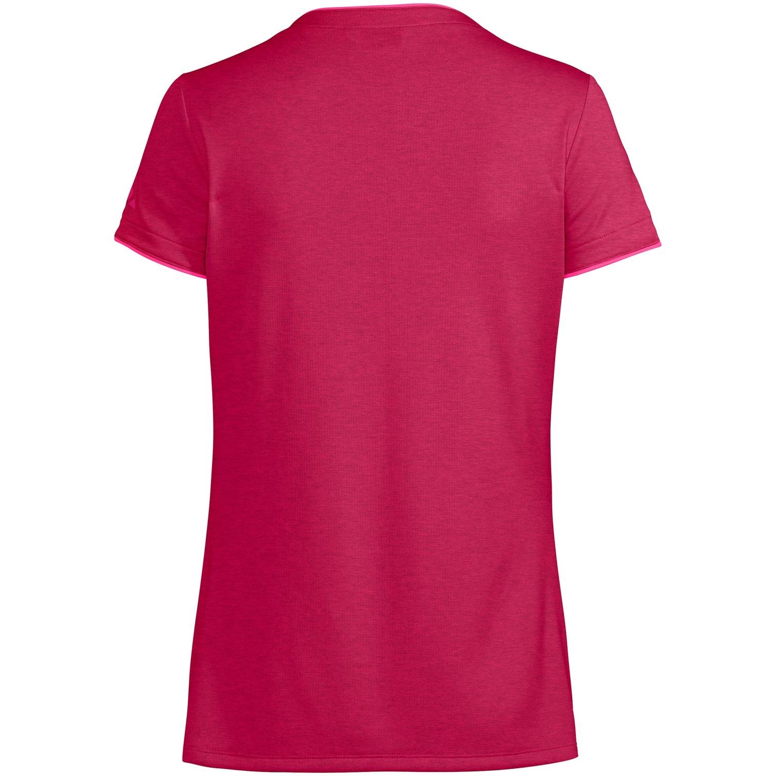 Bild von Vaude Essential Damen T-Shirt - crimson red