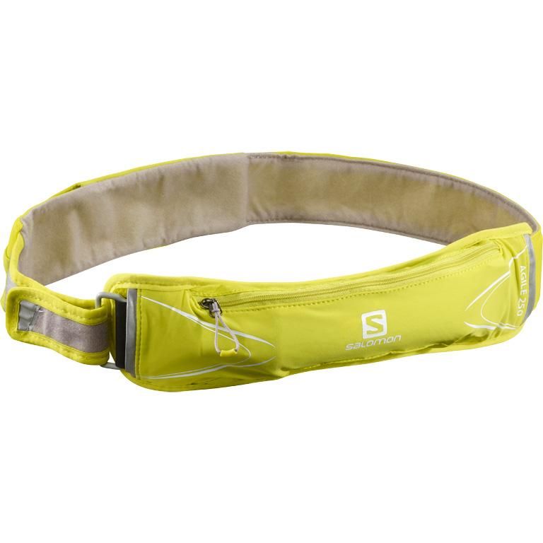 Picture of Salomon Agile 250 Belt Set Hydration Belt - sulphur spring