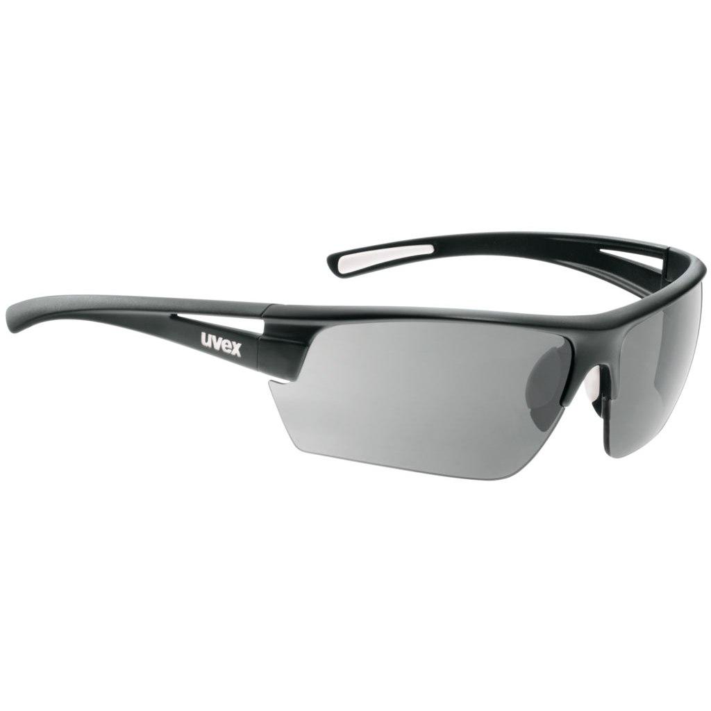 Uvex gravic Glasses - black/smoke + litemirror yellow + clear