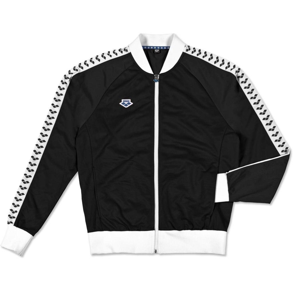 arena Relax IV Team Jacket - black-white