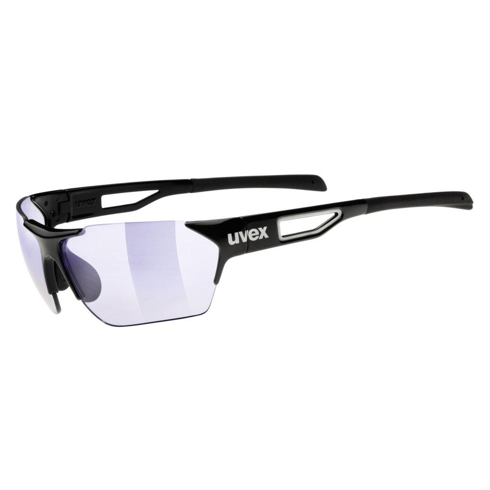 Uvex sportstyle 202 race vm - black / variomatic litemirror blue - Glasses