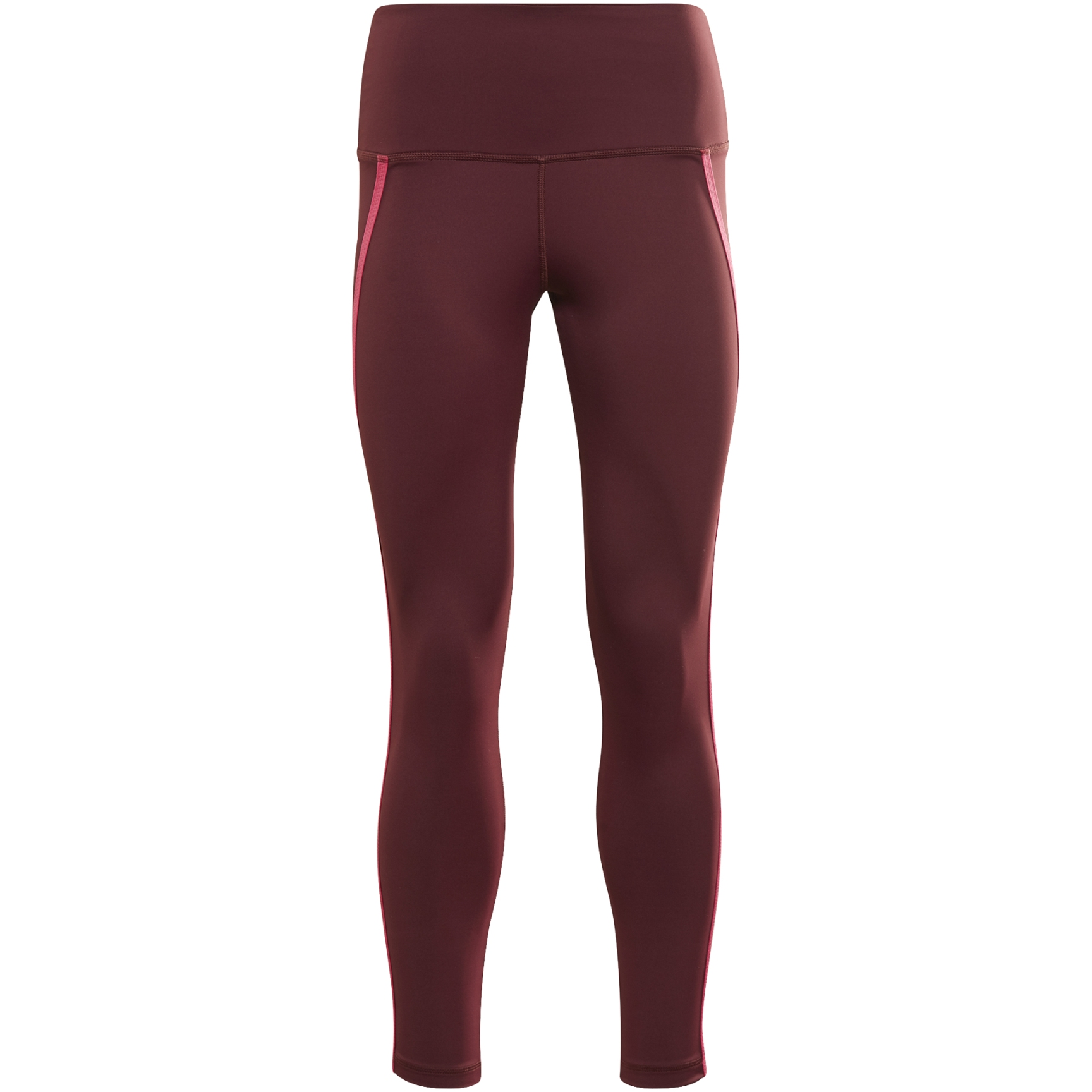 Reebok Studio Taped Leggings Women's Tight - maroon