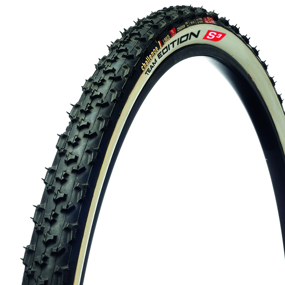 Challenge Limus Team Edition Tubular Tire - 33-622 - black / white