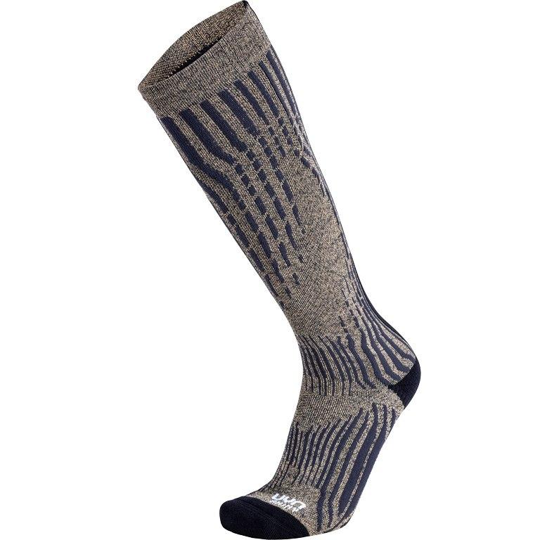 UYN Ski Herren Cashmere Shiny Socks - celebrity gold