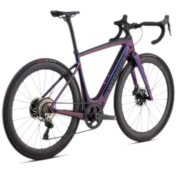 Bild von Specialized S-WORKS TURBO CREO SL Rennrad E-Bike - 2020 - gloss supernova chameleon / raw carbon