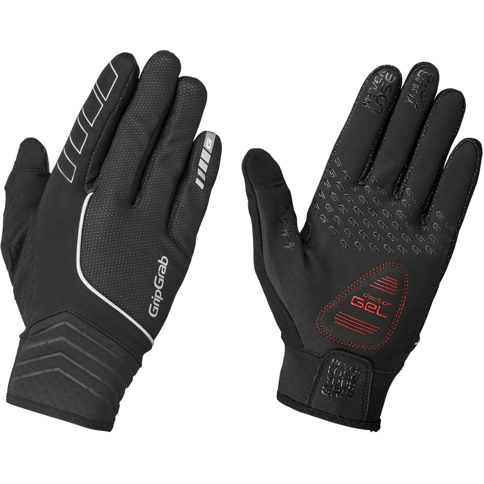 GripGrab Hurricane Windproof Midseason Glove - Black