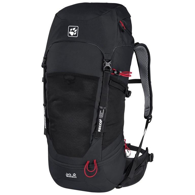 Jack Wolfskin Kalari Trail 36 Pack Recco Rucksack - black