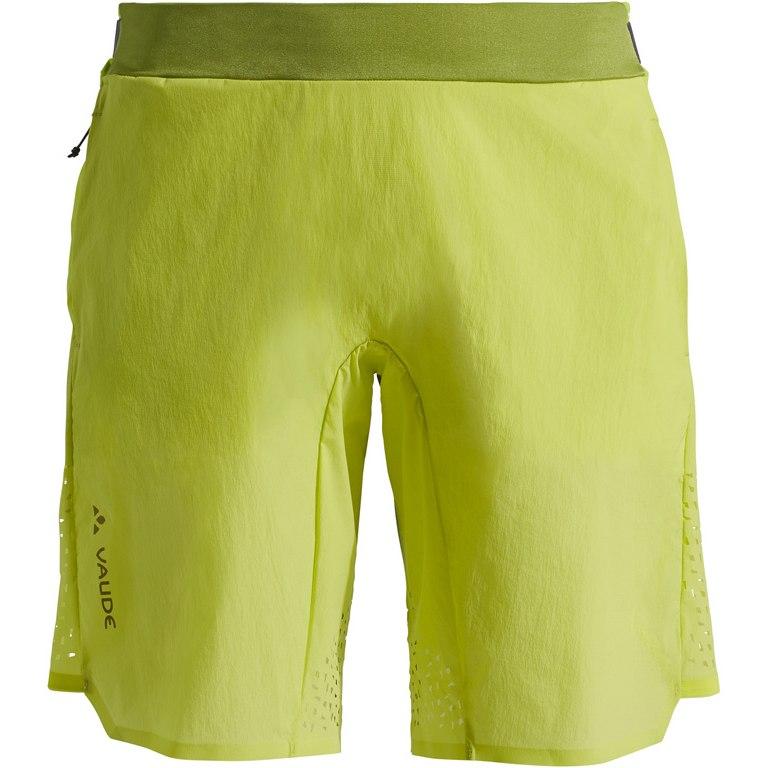 Vaude Women's Green Core Tech Shorts Damenhose - duff yellow