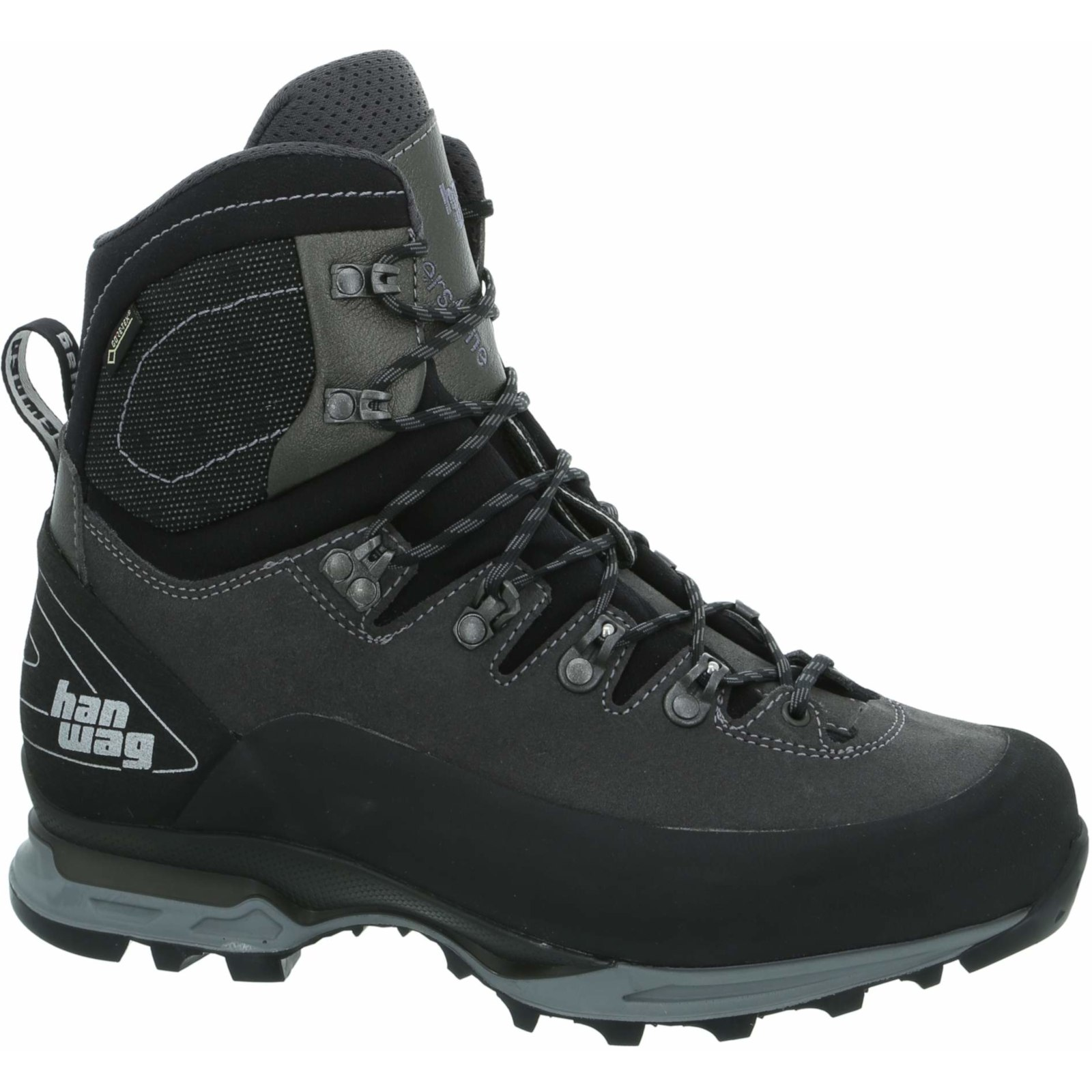 Hanwag Alverstone II GTX Shoe - Asphalt/Light Grey