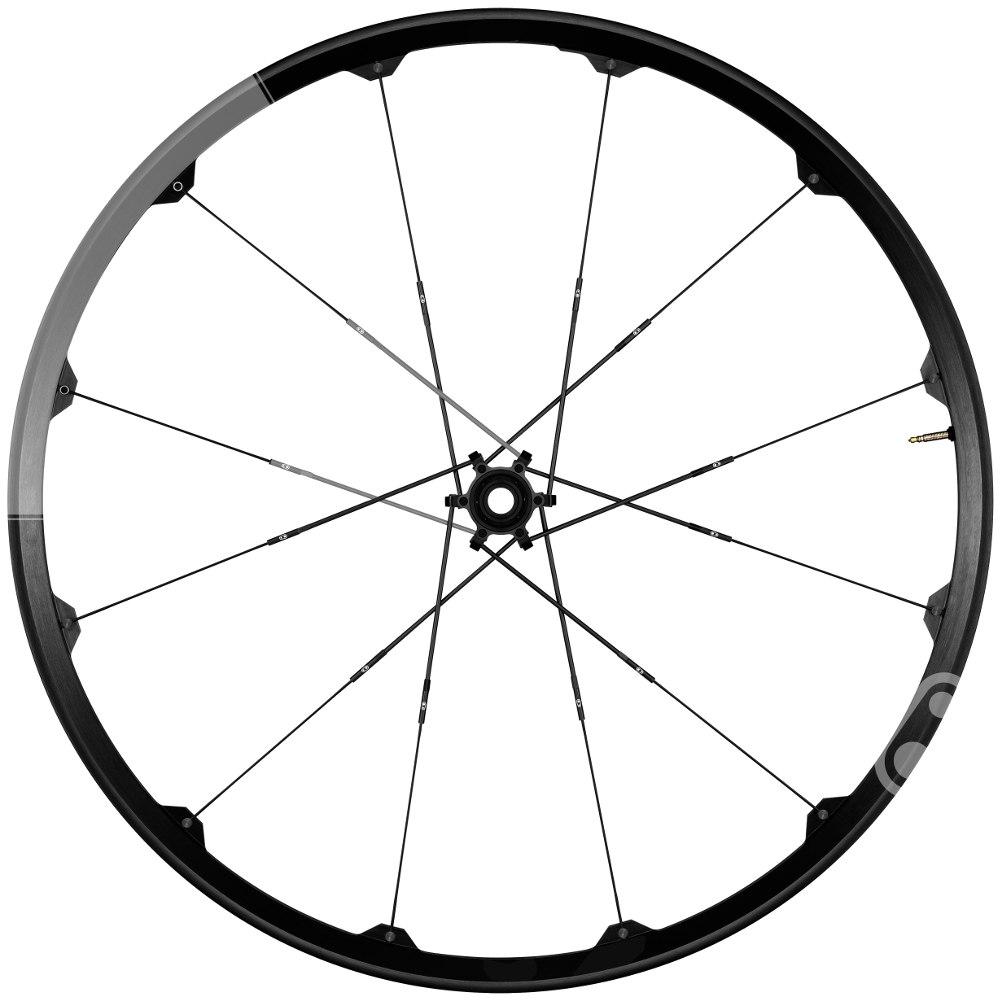 Crankbrothers Iodine 2 AM - 27.5 Inches Wheelset - 6-Bolt - FW: 15x100mm | RW: 12x142mm - black/grey