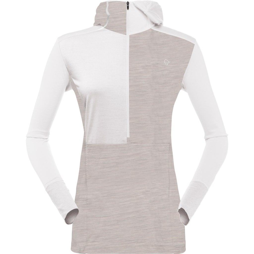 Norrona wool Hoodie Women - Pure Cashmere