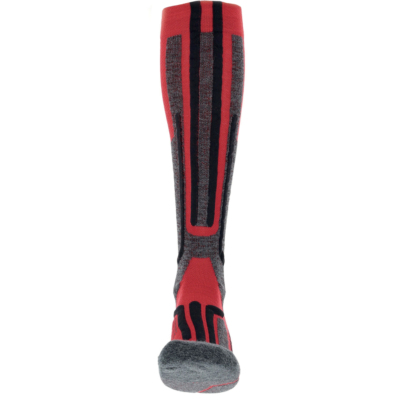 Bild von UYN Ski Merino Socken - Rot/Schwarz