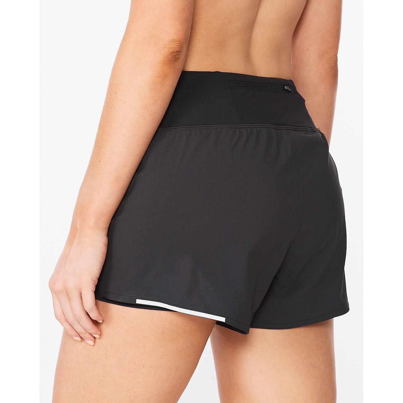 "Imagen de 2XU Aero 2-In-1 3"" Pantalon corto para mujer - black/silver reflective"