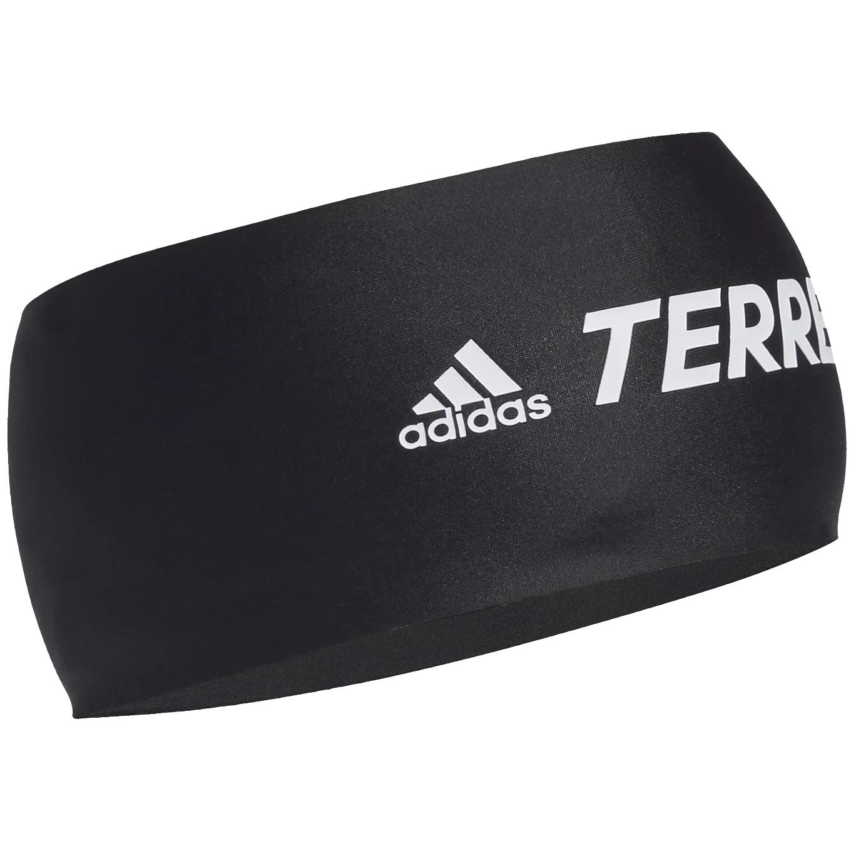 adidas TERREX Primeblue Trail Headband - black/white/white GL8955