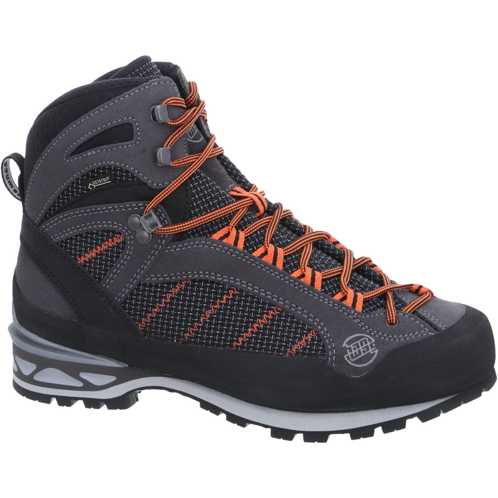 Hanwag Makra Combi GTX Shoe - Asphalt/Orange