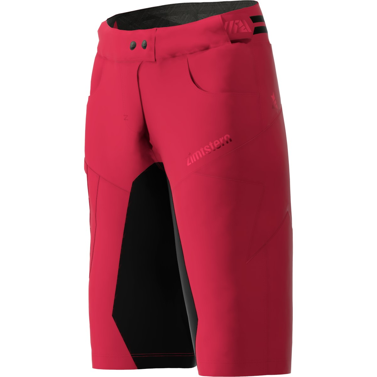 Bild von Zimtstern Taila Evo MTB-Shorts für Damen - jester red/pirate black