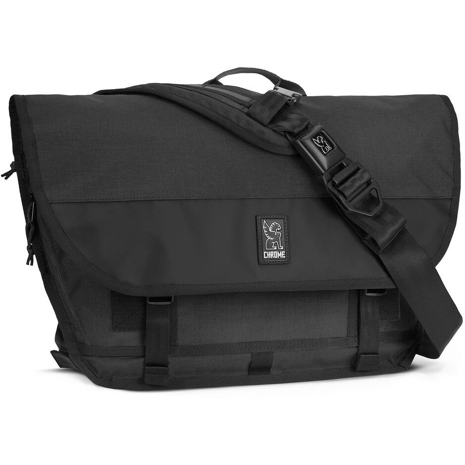 Foto de CHROME Buran III Laptop Messenger Bag - 24L Bolsa de mensajería - Black