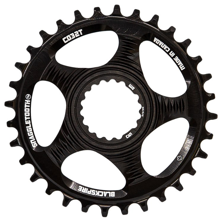 Blackspire Snaggletooth Narrow-Wide Direct Mount Chainring - Cannondale - black