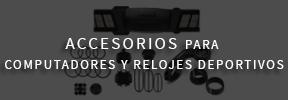Accesorios para Garmin Ciclocomputadores, relojes deportivos y sistemas de navegación