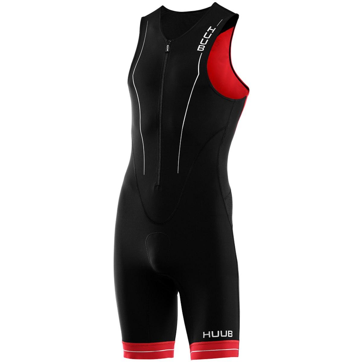 Produktbild von HUUB Design RaceLine Herren Trisuit - schwarz/rot