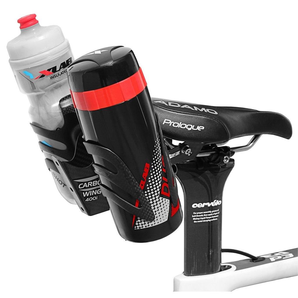 Bild von XLAB Duo Pod Werkzeugflasche - schwarz/silber