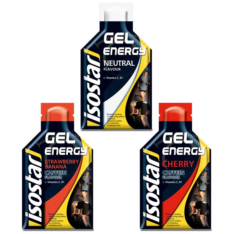 isostar Energy Gel with Carbohydrates - 35g Sachet