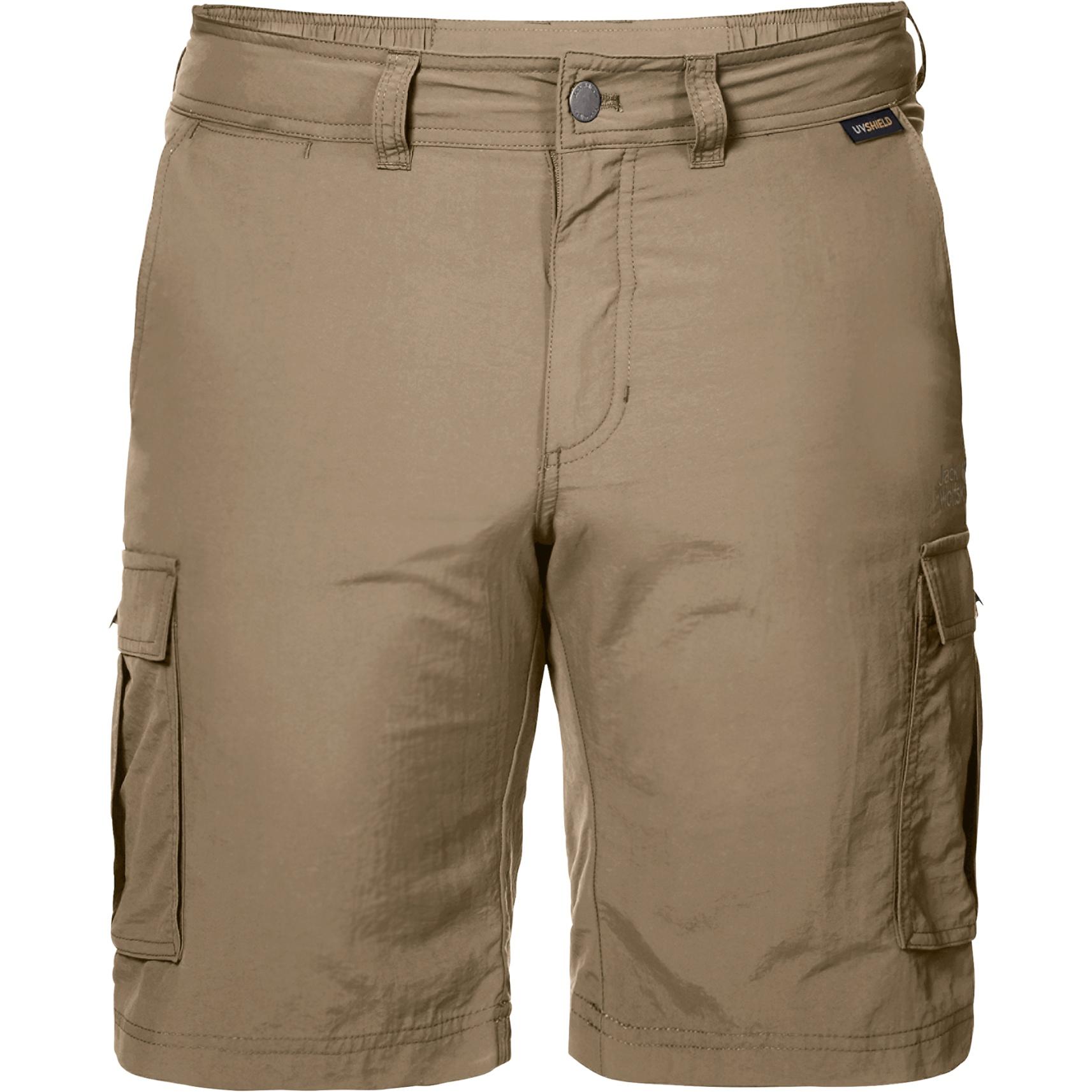 Jack Wolfskin Canyon Cargo Shorts Men Hose - sand dune