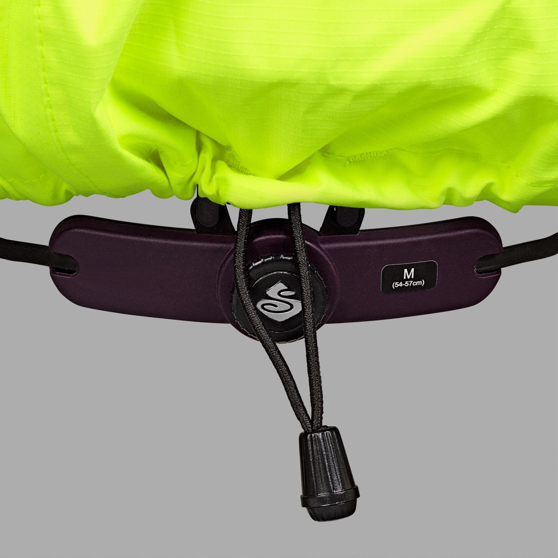 Image of GripGrab Waterproof Hi-Vis Helmet Cover - Yellow Hi-Vis