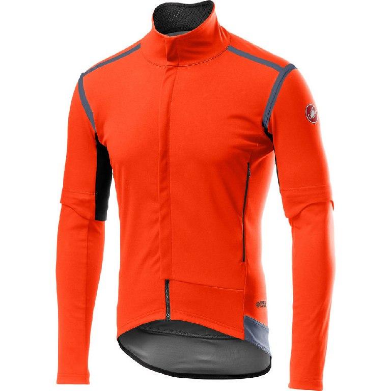 Castelli Perfetto RoS Convertible Jacket - orange 034