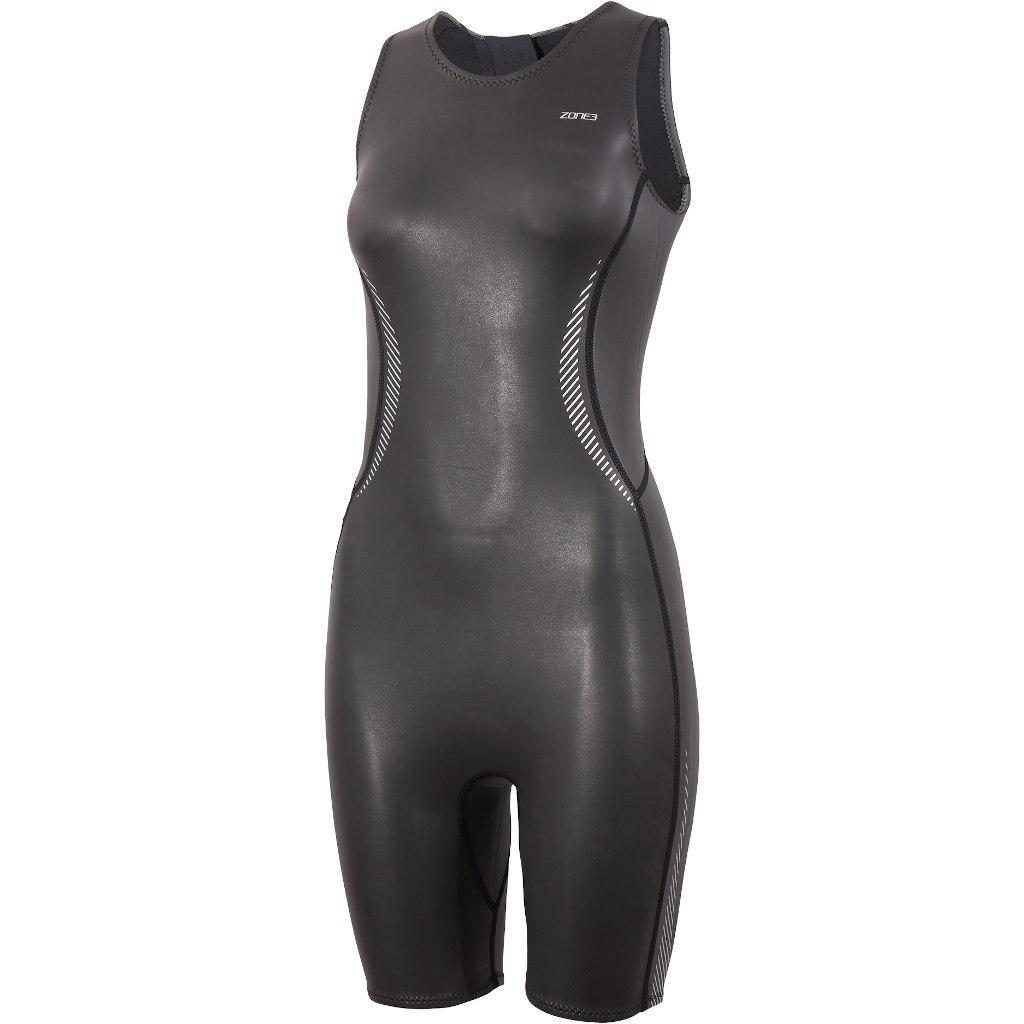 Zone3 Neoprene Kneeskin Damen Schwimmanzug - black