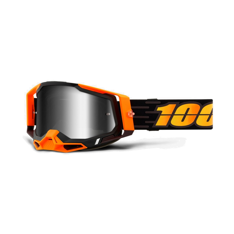 100% Racecraft 2 Goggle Mirror Lens Gafas - Costume 2