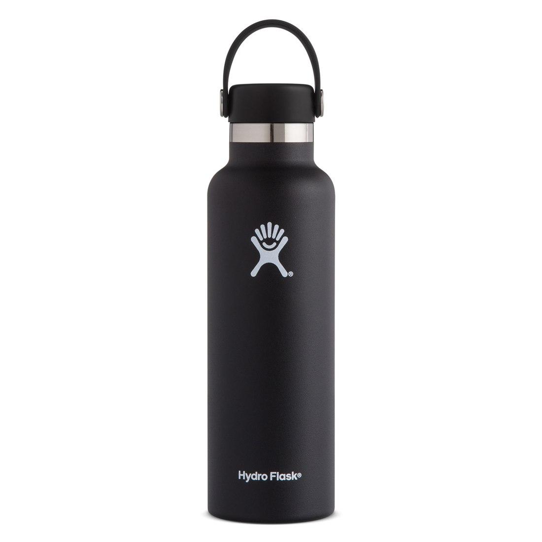 Produktbild von Hydro Flask 21 oz Standard Mouth Flex Cap Thermoflasche 621ml - Black