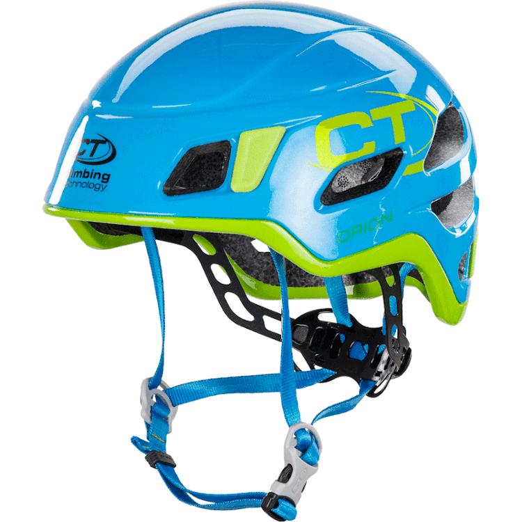 Image of Climbing Technology Orion Climbing Helmet - light blue / green