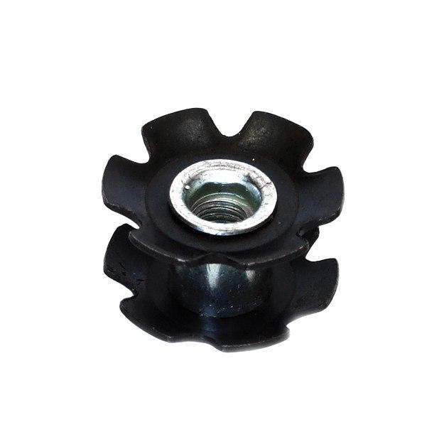 Image of Clarks Ahead Star Nut - 1 Inch - black