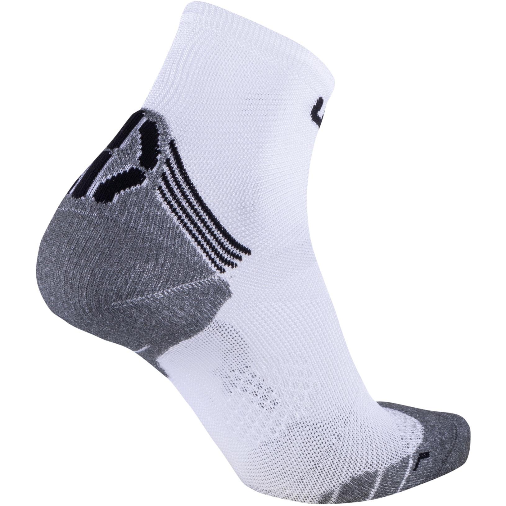 Bild von UYN Run Superleggera Herren Socken - White/Grey
