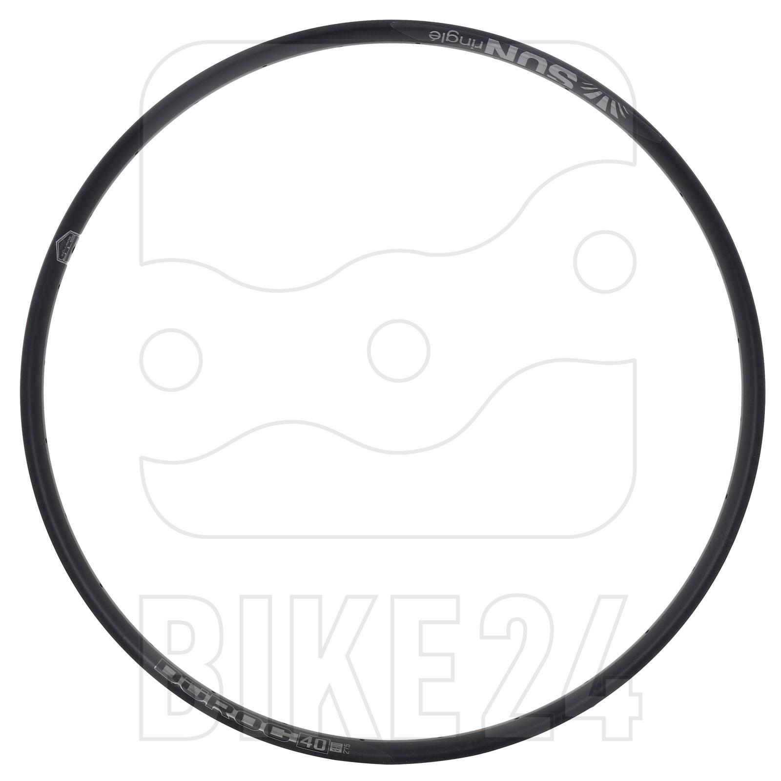 SUNringlé Düroc 40 Disc 29 Inch MTB Rim - black
