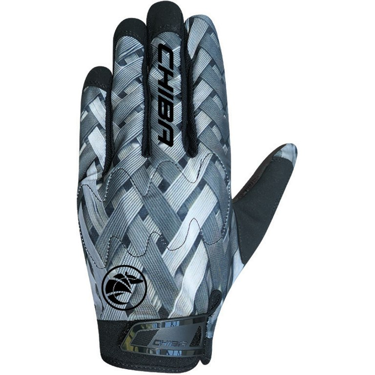 Chiba ELMNTS Youth Bike Gloves - dark grey