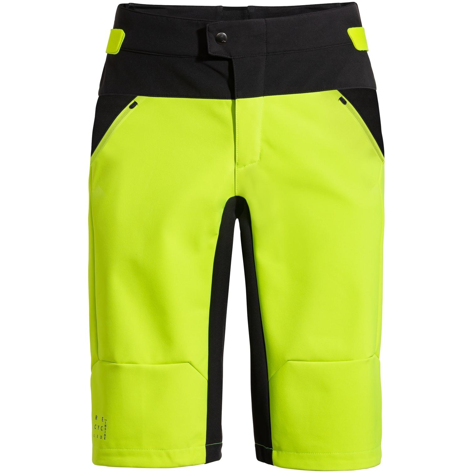 Vaude Qimsa Softshell Shorts - neon yellow