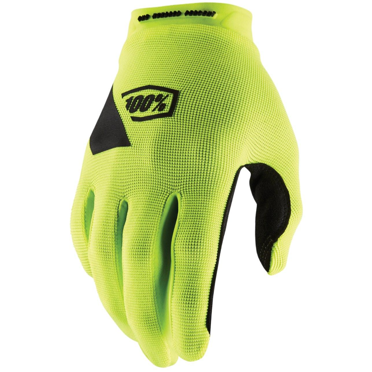 Imagen de 100% Ridecamp Glove - Fluo Yellow