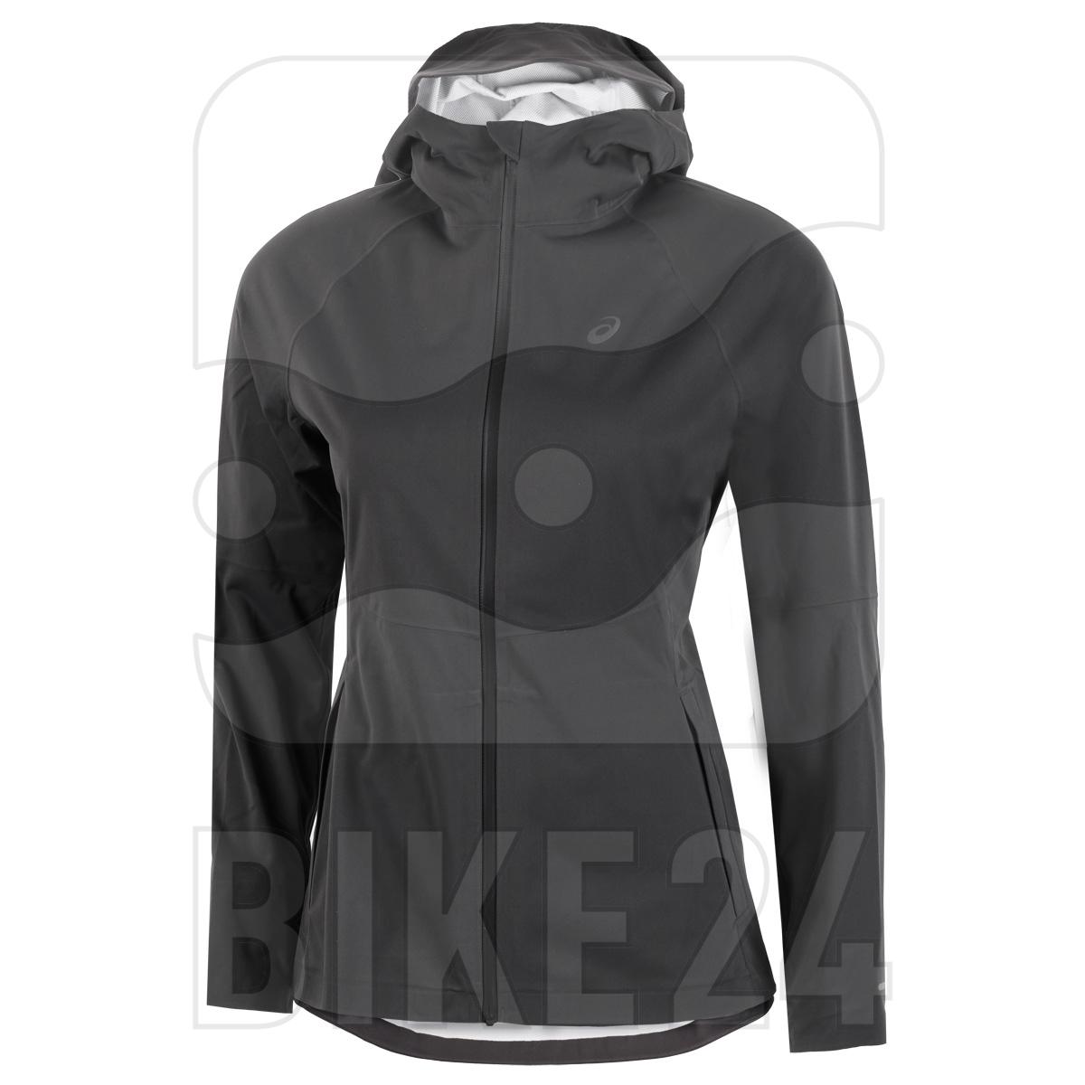 asics Accelerate Run Jacke Damen - graphite grey