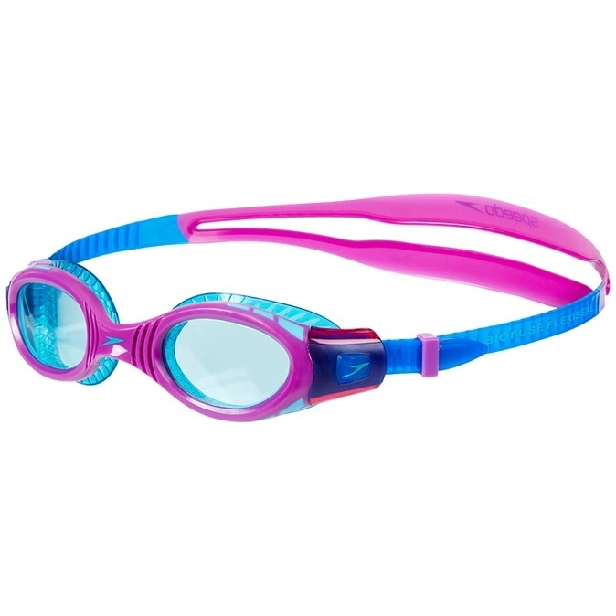 Speedo Futura Biofuse Flexiseal Junior Schwimmbrille - new surf/purple vibe/peppermint