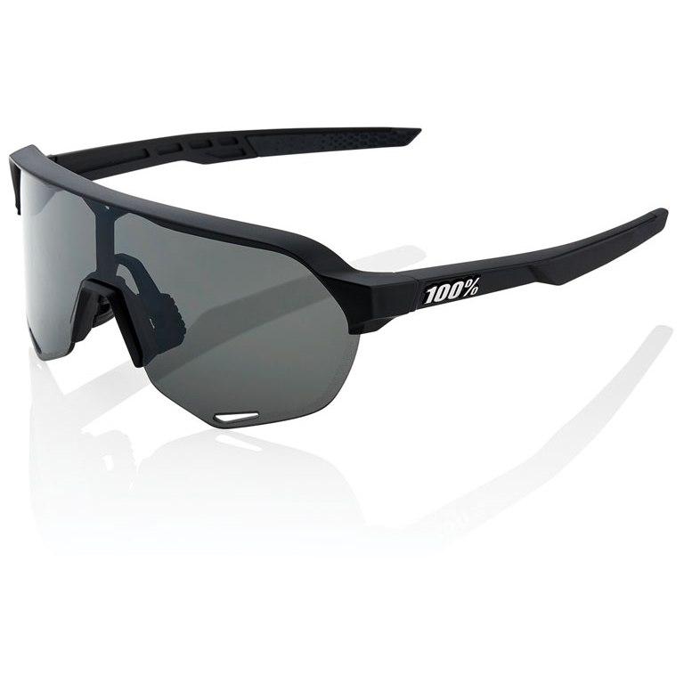 100% S2 Smoke Lens Gafas - Soft Tact Black/Smoke + Clear