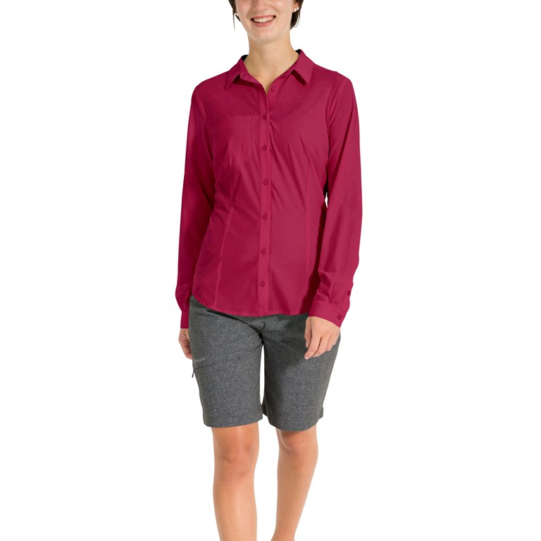 Bild von Vaude Women's Skomer LS Shirt - crimson red