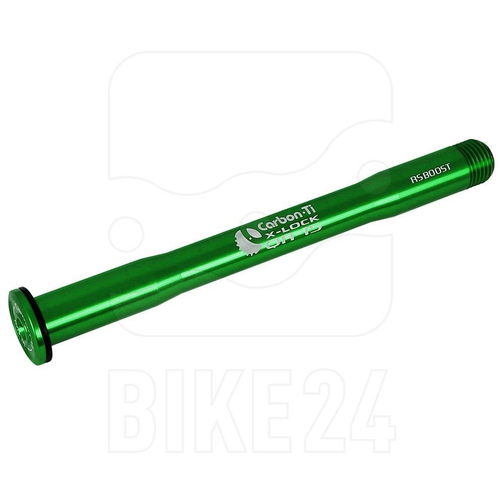 Carbon-Ti X-Lock QR15 Thru Axle 15x110mm Boost - M15x1.5mm - RockShox - green