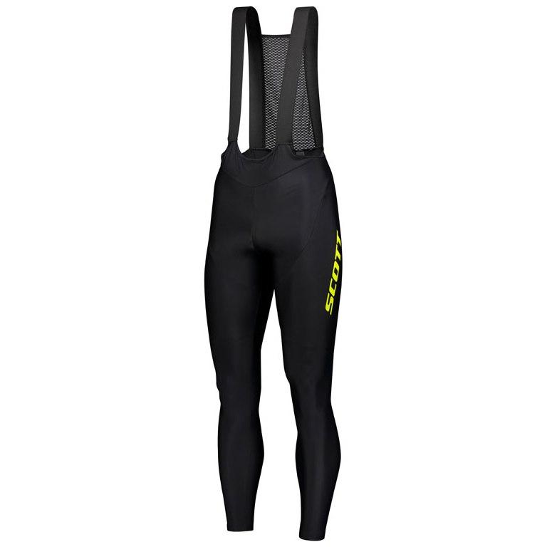 SCOTT RC Pro W/O Pad Men's Tights - black/sulphur yellow