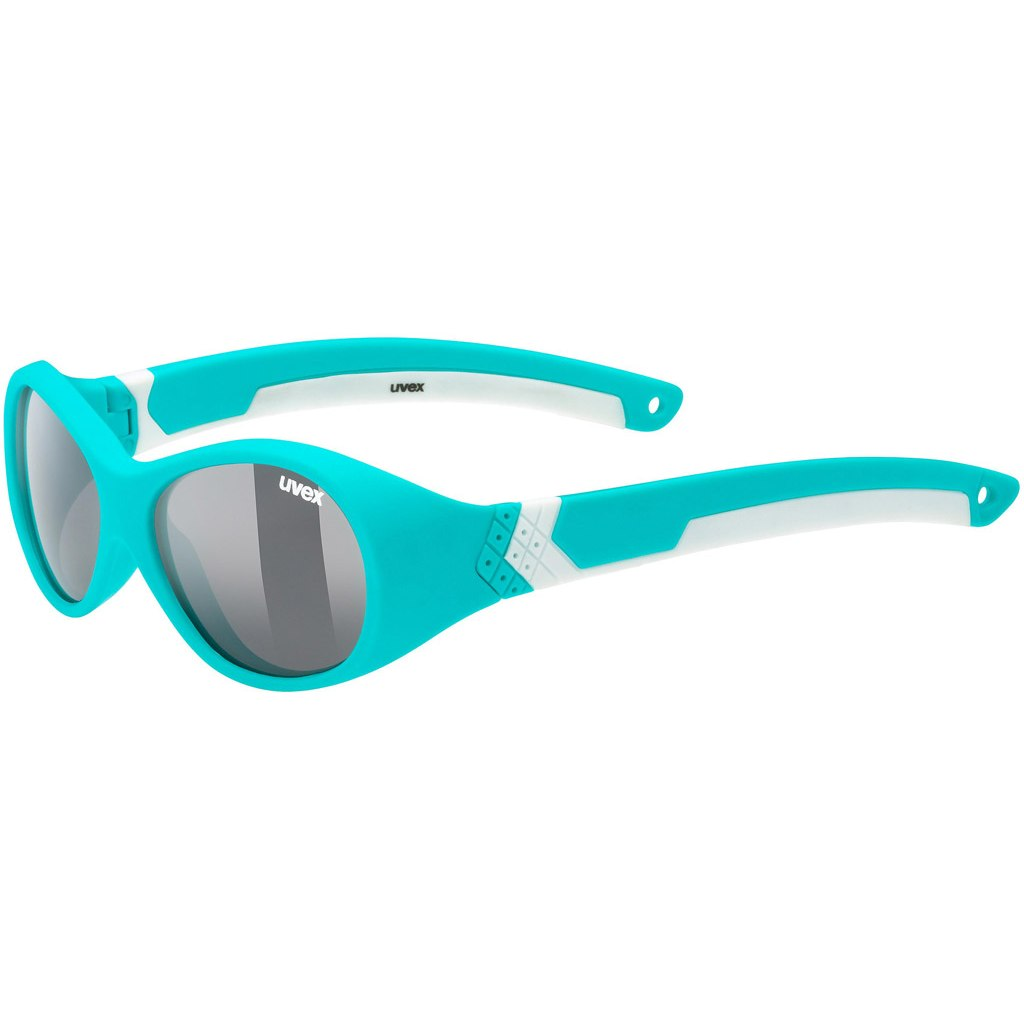 Uvex sportstyle 510 Kids Glasses - turquoise white/smoke