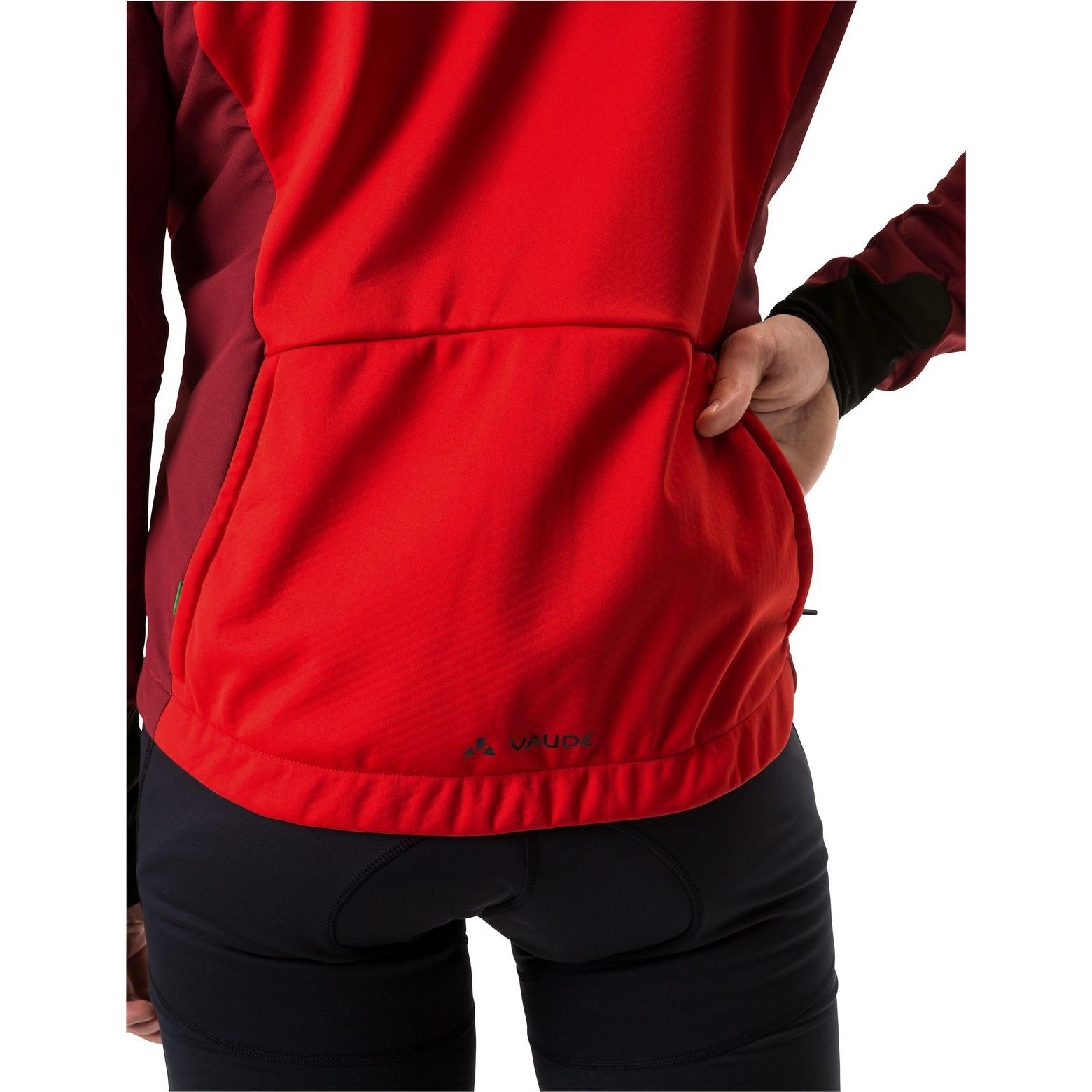 Image of Vaude Men's Kuro Softshell Jacket - mars red